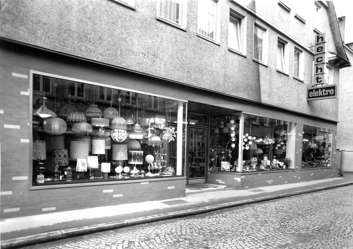 1968 Erweiterung der Verkaufsräume Kanzleistraße 22