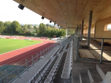 Beschallung eines Stadions