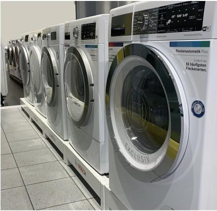 Waschmaschinen-Auswahl in unserem Elektro Fachgeschäft in Pfullingen