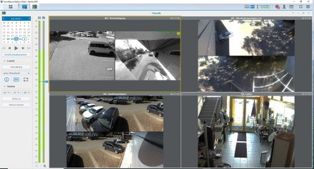 Überwachungsscreen