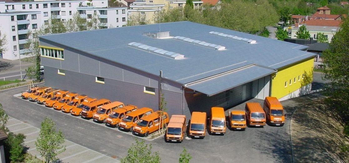 Dienstleistungszentrum Pfullingen 2001