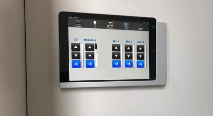 iPad zur Steuerung der Audiotechnik